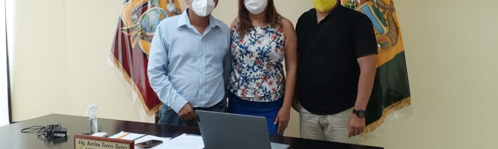 El GAD Parroquial continua trabajando por días mejores de la Parroquia La Cuca.