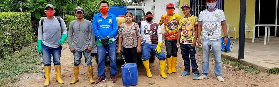 FUMIGACION DE NUESTRO SECTOR PARA PREVENIR EL VIRUS.